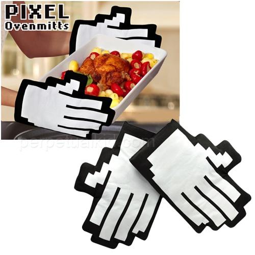 pixel-oven-mitts