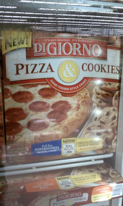 DiGiorno Pizza and Cookies