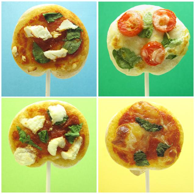 Pizza Lollipops