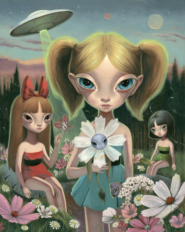 Planet of the Floraxians by Ana Bagayan