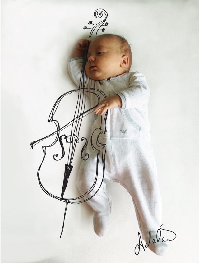 Playing Cello