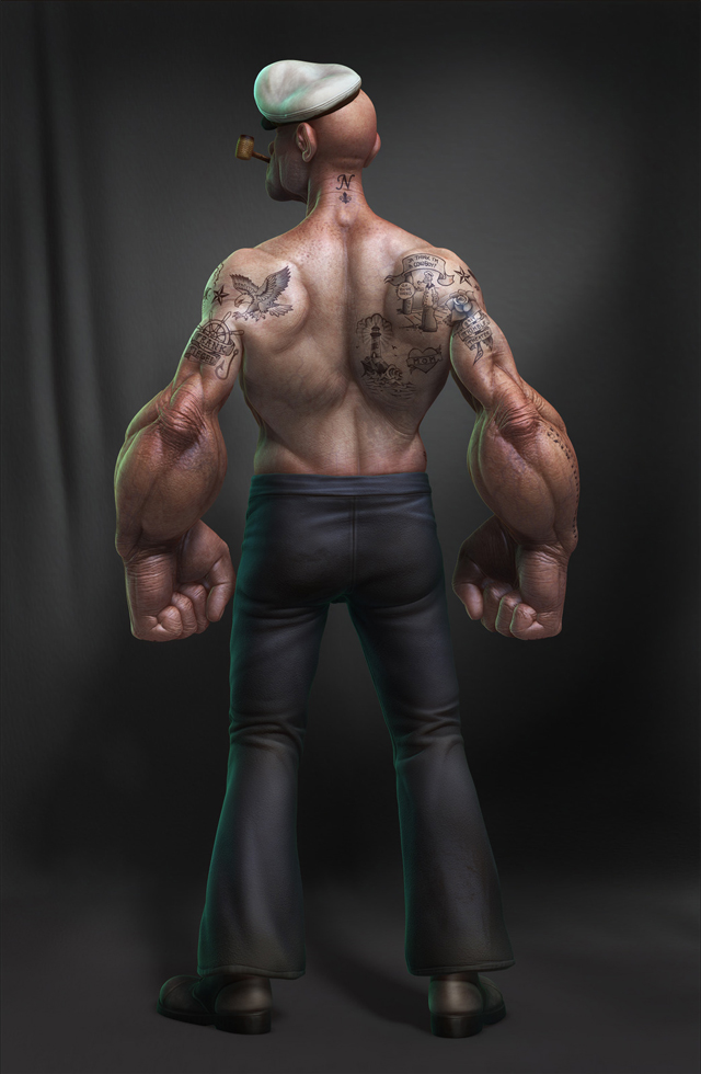 POPEYE_BACK by Lee Romao