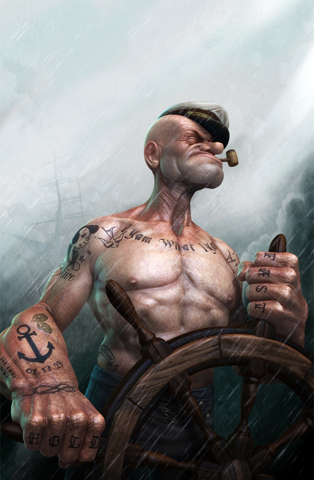 POPEYE by Lee Romao