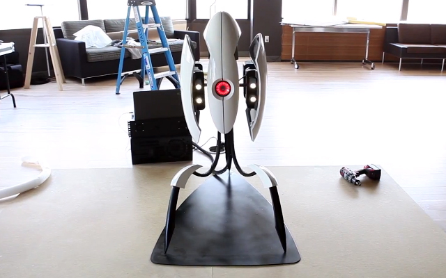 There You Are - Portal 2 Turret by Weta Workshop for Valve