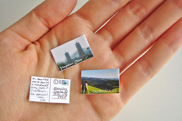 The World's Smallest Postcard