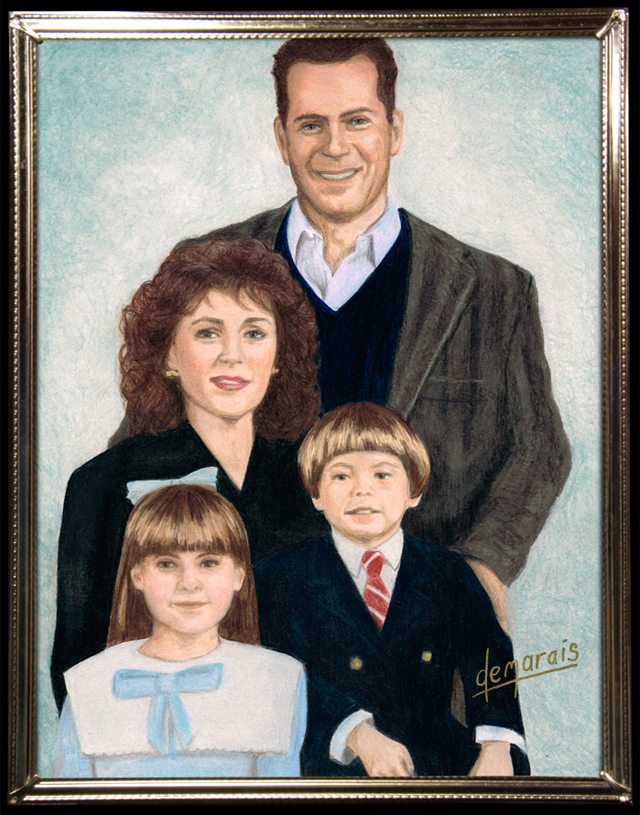 The McClanes (Die Hard) by Kirk Demarais
