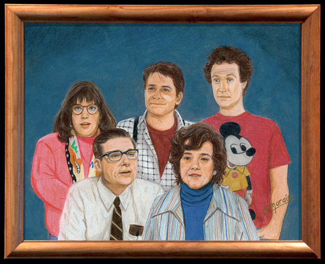 The McFlys (Back to the Future) by Kirk Demarais