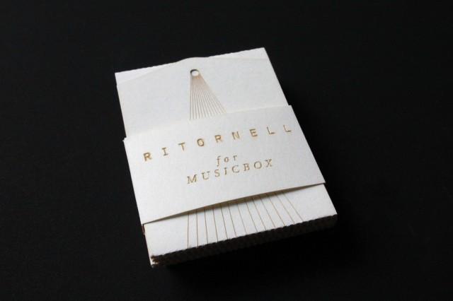 Music box business card by Katharina Holzl