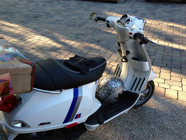 Custom Sticker Vespa