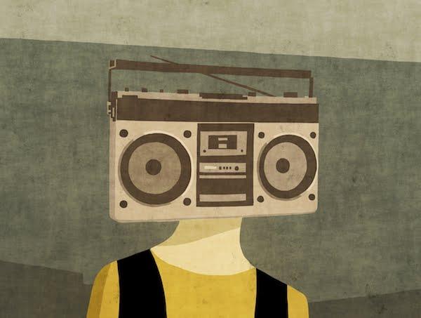 Face/Radio #01 by Toni Demuro