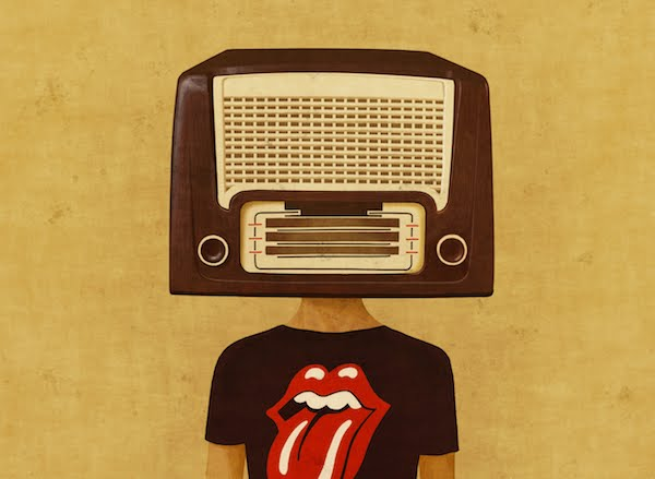 Face/Radio #04 by Toni Demuro