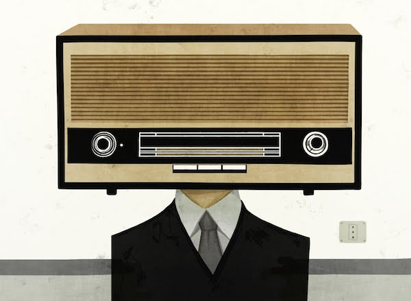 Face/Radio #05 by Toni Demuro