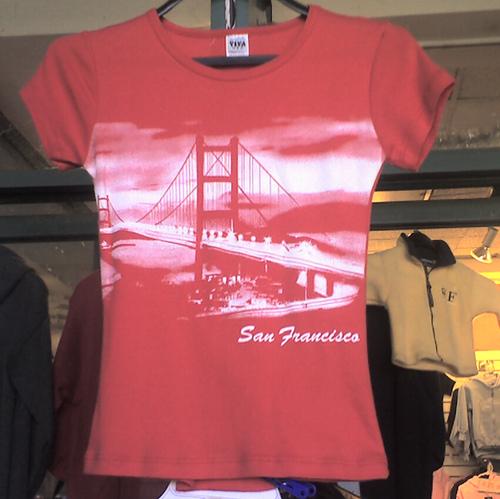 San francisco t shirt photo treasure hunt for San francisco custom shirts
