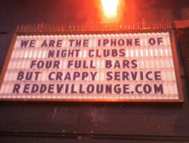 iPhone of Nightclubs