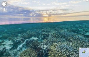 Google Street View Under The Sea