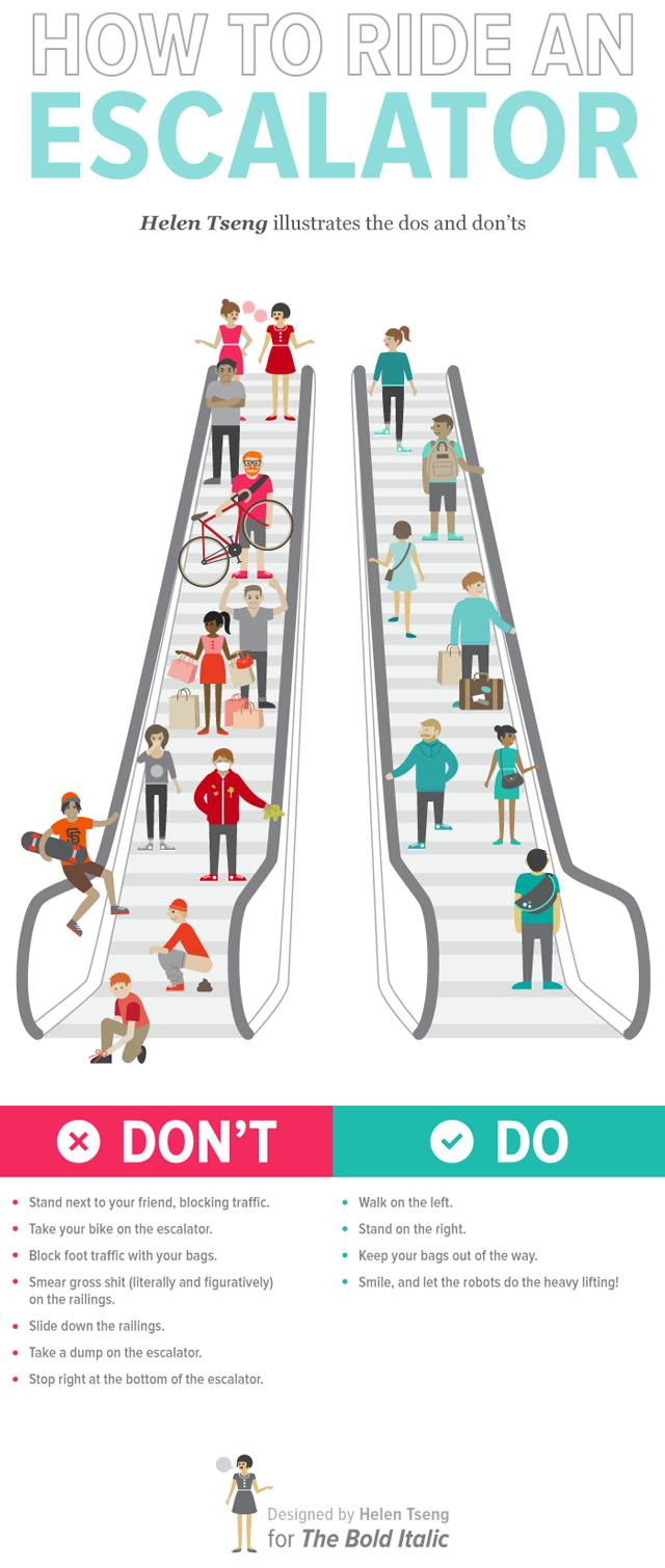 How to ride an escalator escalator ccuart Choice Image