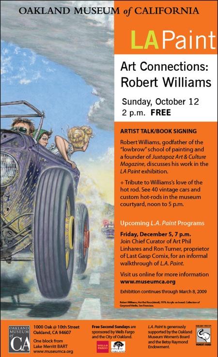 Robert Williams Artist Talk