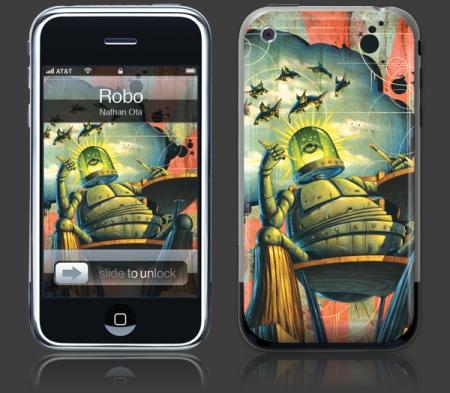 GelaSkins iPhone Art Skins