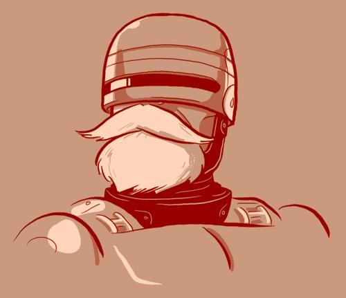Bearded Robocop