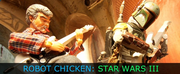 Robot Chicken: Star Wars Episode III on [adult swim]