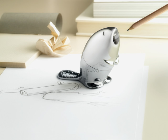 Kastor beaver pencil sharpener by Rodrigo Torres