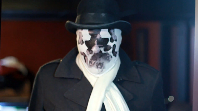 Cheap, Moving Rorschach Halloween Mask
