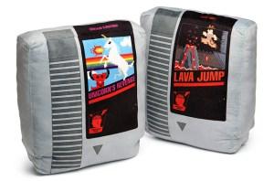 Retro Video Game Cartridge Pillow Set
