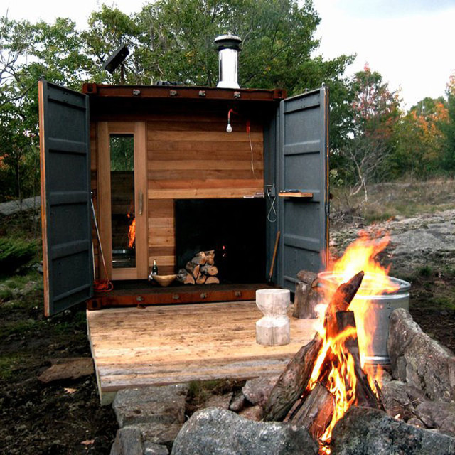 Sauna Box by Castor Design