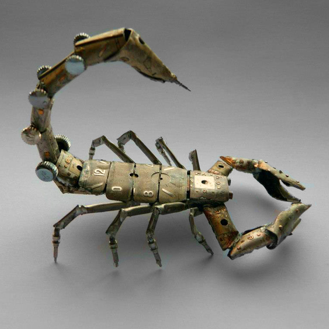 A Mechanical Scorpion by JM Gershenson-Gates
