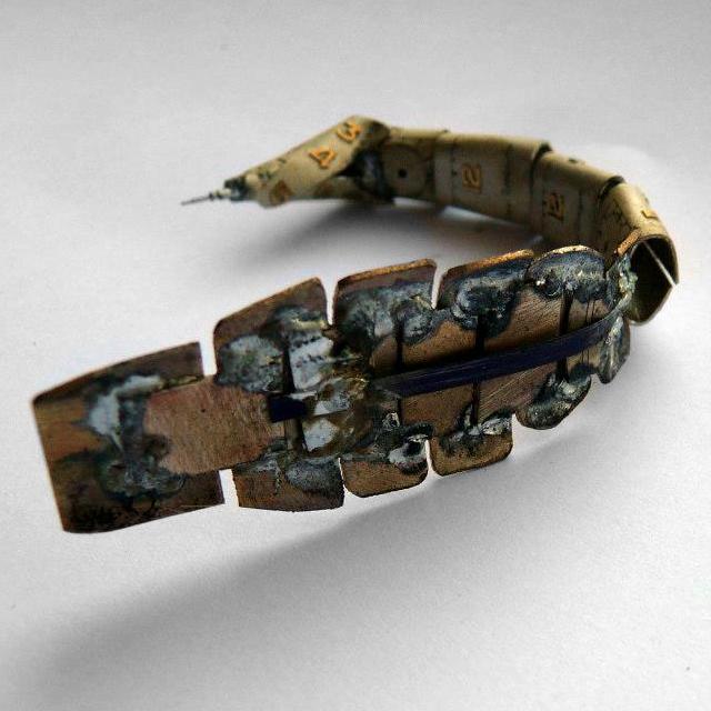 A Mechanical Scorpion by JM Gershenson-Gates