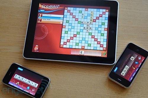 Scrabble iPad