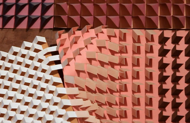 Paper sculptures of Irving Harper