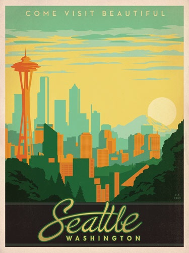 Art Amp Soul Of America Vintage Travel Posters Of Us Cities