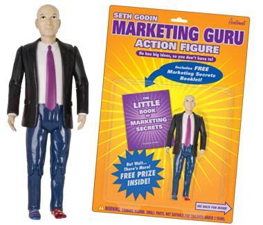 Seth Godin, Marketing Guru Action Figure