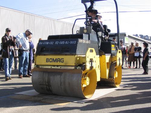 Roadworks Steamroller Prints and Street Fair