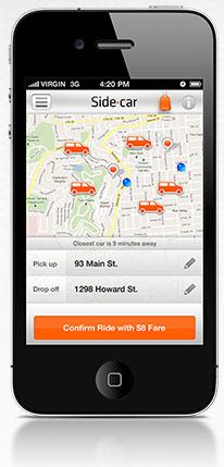 Sidecar, a community ridesharing app