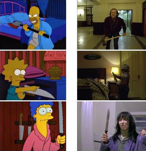The Simpsons Matched Up With The Movies They Reference