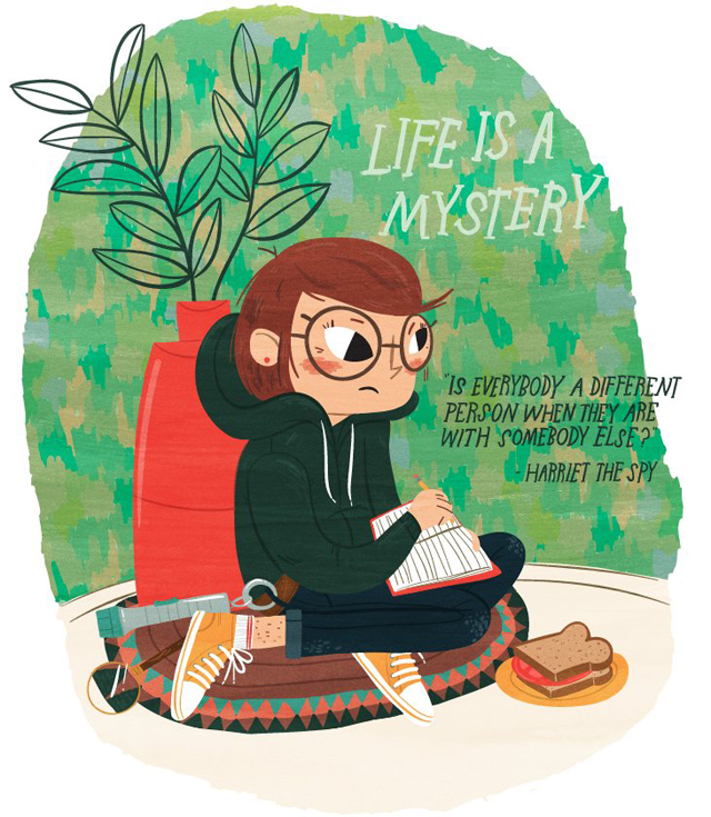 Life is a Mystery (Harriet the Spy) by Lauren Gregg