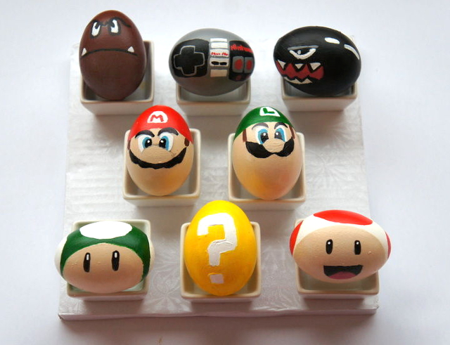 Super Mario Brothers Easter Eggs