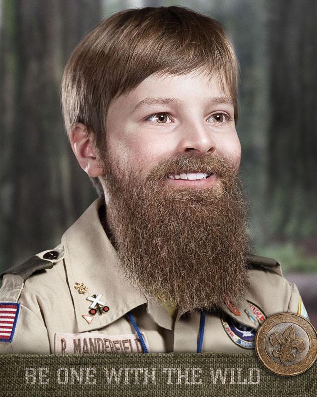 Creepy Beard a Creepy Bearded Boy