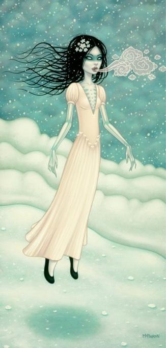 snow-bride