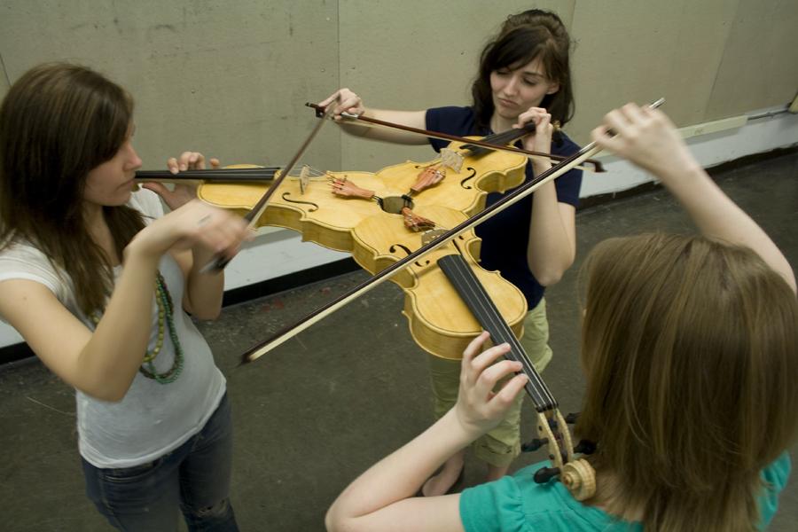 crazy tri-violin
