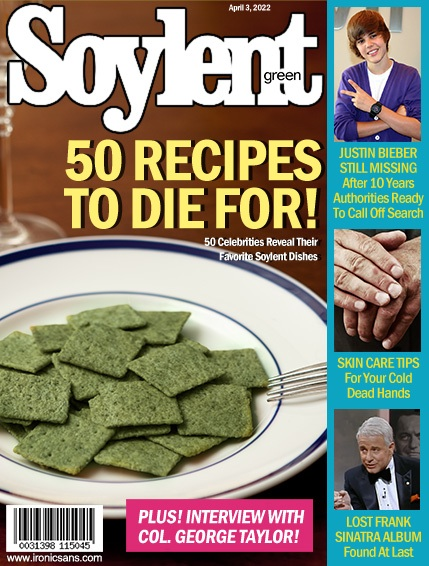 Soylent green is people magazine for Soylent green is people