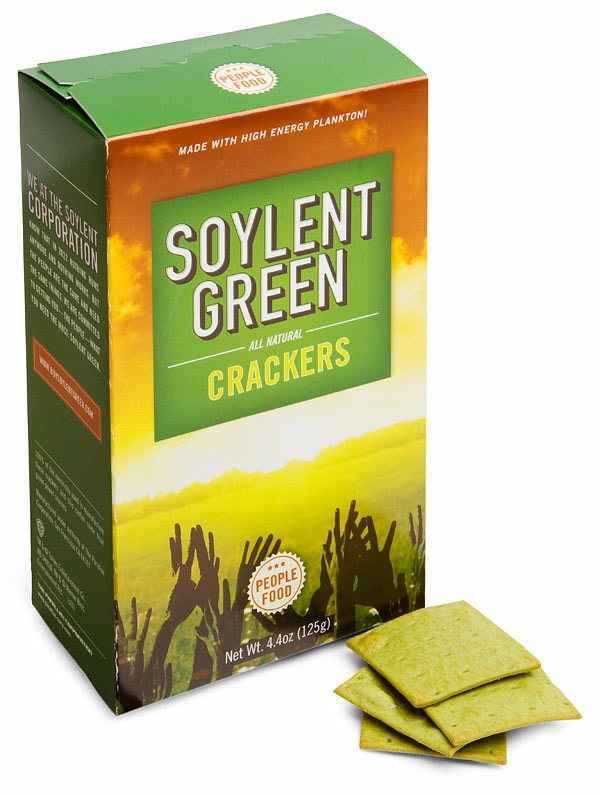 Soylent Green Crackers, Just Like Grandma Used To Taste