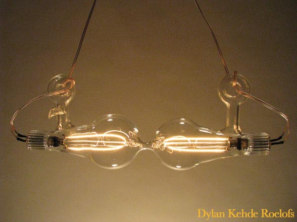 Incandescent sculptures by Dylan Kehde Roelofs