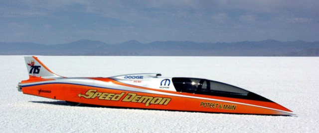 Speed Demon 462 MPH record attempt