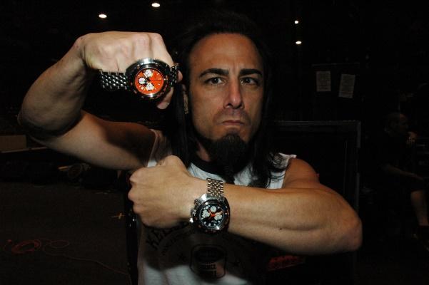 Dan Spitz, anthrax guitarist and master watchmaker