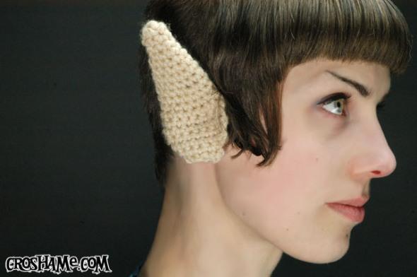 Crocheted Spock Ears by Croshame