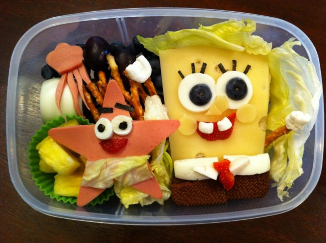 Sponge Bob Square Pants Lunch