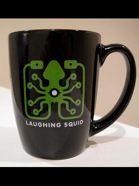 Laughing Squid mug at NoonaCo